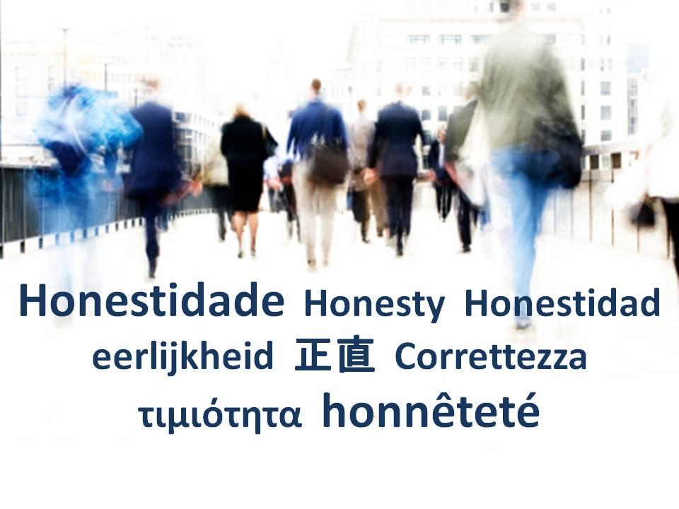 O Valor Humano Honestidade Evolução Humana